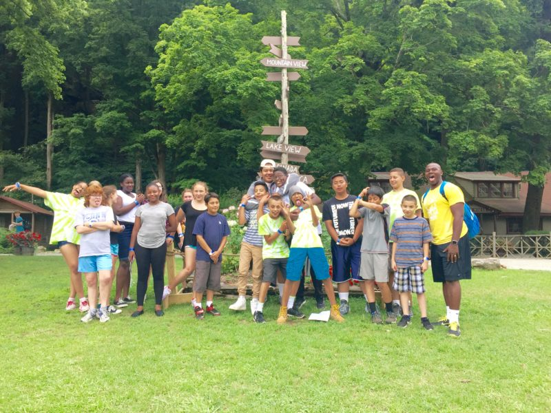 Stamford YMCA Teen Adventure Camp